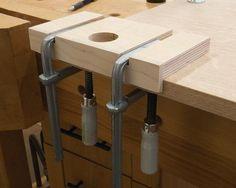 Holzwerken.net: Frässchablone für Topfbänder