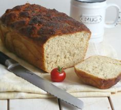 "szybki ""nocny"" chleb Banana Bread, Recipies, Cookies, Eat, Food, Clever, Recipes, Crack Crackers, Biscuits"