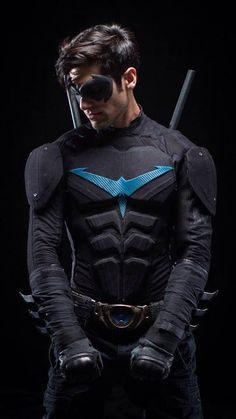 on Pinterest  Nightwing Cosplay, Nightwing and Superhero Cosplay