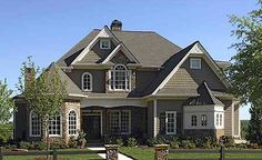 Plan W15762GE: Traditional, European, Photo Gallery, Corner Lot House Plans & Home Designs