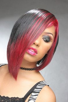 That's right.  I want this haircut and this color-ish.