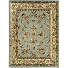 Oriental Design Sage Area Rug (7'10 x 9'10)   Overstock™ Shopping - Great Deals on 7x9 - 10x14 Rugs