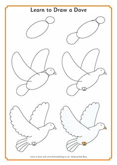 Easy christmas drawing easy drawings in pencil drawing easy christmas drawings for cards Easy Pencil Drawings, Easy Flower Drawings, Easy Drawings For Kids, Bird Drawings, Drawing For Kids, Animal Drawings, Learn Drawing, Simple Bird Drawing, Easy Butterfly Drawing