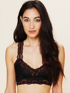 b2635a069a Free People Galloon Lace Racerback Crop Bra Obsessive Lingerie