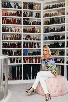 This fashionista takes charity to her closet. Literally. See the full story now!
