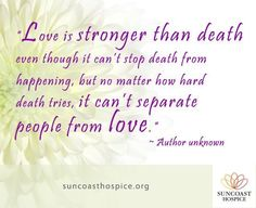Image result for images of sayings for family of someone approaching death.