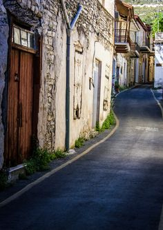 Lefkara, Cyprus. A great traditional village, known for handmade lace called Lefkaritika.