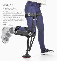 iWalkFREE: The premier hands free crutch