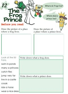 Grade 2 Reading Lesson 12 Fairy Tales – Frog Prince