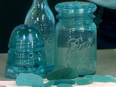 Richard Lamotte shows pieces from his extensive sea-glass collection and gives sea-glass-gathering tips.