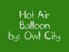 Owl City Fanfiction- Hot Air Balloon, part 1 #owlcity