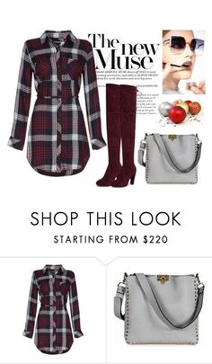 """Untitled #11"" by superpaolamara ❤ liked on Polyvore featuring Valentino and Fendi"