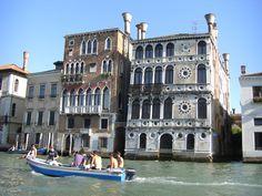 Venezia Canal Grande Palazzo Dario