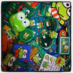 Kero Kero Keroppi collection!