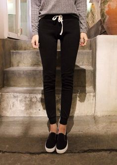 fitted sweatpants