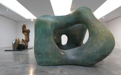 HENRY MOORE: Late Large Forms via Gagosian Gallery
