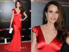 Andie MacDowell In Johanna Johnson – 39th Annual Gracie Awards