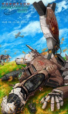 ROBOTECH 4 by dagova