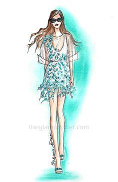 Illustrations  Blumarine, Spring-Summer 2015