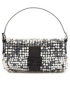 Fendi - BAGUETTE SEQUIN EMBELLISHED SHOULDER BAG - mytheresa.com GmbH 14,321.3kr