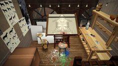 Elsie's Studio: the apartment.