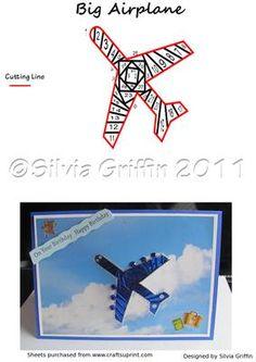 Big Airplane on Craftsuprint - Add To Basket!