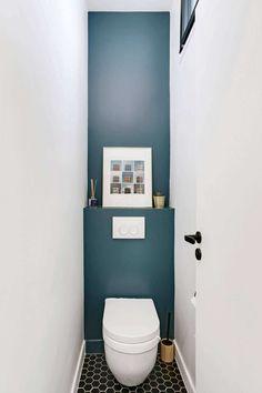 An immaculate loft near Paris PLANETE DECO a world of these houses – diy bathroom decor Bathroom Interior, Modern Bathroom, Small Bathroom, Boho Bathroom, Bathroom Ideas, Bathrooms, Wc Decoration, Small Toilet Room, Toilette Design