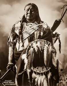 The Antiquarium - Antique Print & Map Gallery - Frank Albert Rinehart - Chief War Path Photograph Native American Pictures, Native American Beauty, Indian Pictures, Native American Tribes, American Indian Art, Native American History, American Indians, Native Americans, American Symbols