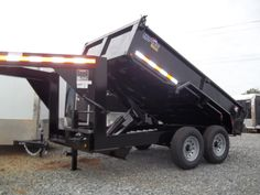 goosneck equipment dump trailer 7 x 12 w 2 ft sides by best trailers macon ga Best Trailers, Dump Trailers, Covered Wagon, Lawns, Restore, Restoration, Gadgets, Tools, Building