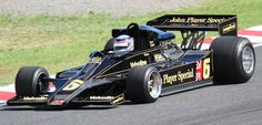 Lotus 1978. Maybe one of the most beautiful F1 Car ever build.