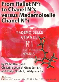 Philip Kraft, Christine Ledard, Philip Goutel, From Rallet to Chanel versus Mademoiselle Chanel Perfum. Cover Pics, October, Fragrance, Perfume, Chanel