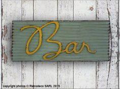 Tôle Bar,  Sphere Inter chez L'intention décoration www.facebook.com/Lintention