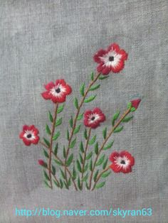 Hand Embroidery Dress, Hand Embroidery Projects, Embroidery Sampler, Flower Embroidery Designs, Diy Embroidery, Brazilian Embroidery Stitches, Hand Embroidery Stitches, Cross Stitch Embroidery, Quilling Designs