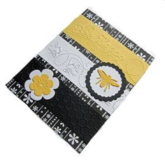 Bee Card All Occasion or with Saying of Your by TheSandlapperShop