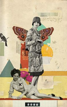 Surreal vintage collage art by Diego Max Collage Foto, Collage Kunst, Art Du Collage, Collage Design, Mixed Media Collage, Digital Collage, Surrealist Collage, Love Collage, Art And Illustration