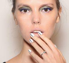 Nail Art na NYFW (Foto: Getty Images)