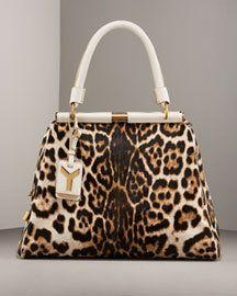 YSL leopard Majorelle