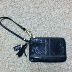 COACH one zip wallet Authentic and only used once. (was a gift) Coach Bags Wallets