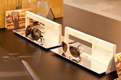 Tom`s Sunglasses stand in Selfridges by Design4Retail, London store design