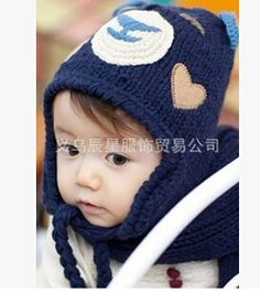 45a315538d0d0 Baby s Warm Lovely Beanies Caps Hats Crochet knitted Cute Bear Fashion  Winter Autumn Hats For Wholesale 38