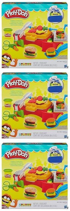 Play-Doh Modeling Clay 11740: Play-Doh Grill Playset, Cookout Presser Bbq Play Pretend Clay Picnic Kids New -> BUY IT NOW ONLY: $37.96 on eBay!