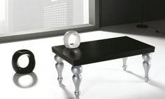 JAZZ: Mesa de centro fabricada en chapa de roble y disponible en acabados color muestra o lacados mate.