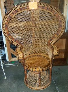 This unique, antique chair is only $25!