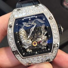 Richard Mille RM051-01 WG & Pave.