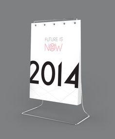 Calendar 2014 on Behance