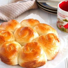 This Milk bread recipe produces soft and fluffy rolls that are mildly sweet and are perfect for your choice of spread or jam. Milk Bread Recipe, Bread Recipes, Baking Recipes, Brunch Recipes, Rolls Recipe, Bread Rolls, Dinner Rolls, Bread Baking, Food And Drink