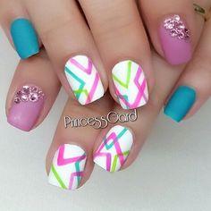 summer nail - 65 Lovely Summer Nail Art Ideas  <3 <3