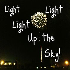 The Afters- Light up the sky to show me you are with me