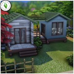 Tiny Living, Simple Living, Sims 4 House Building, Granite Falls, Sims 4 Gameplay, Sims 4 Build, Sims 4 Houses, Sims 4 Mods, Sims Cc