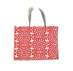 Orange Bag Cherry Tote Bag Amy Butler Bag Orange by AnyarwotStyle, $18.00